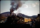 D&amp;RGW #483 K-36 (RMRRC excursion to Chama)<br /> D&amp;RGW  Durango, CO  5/30/1966
