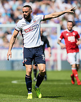 Bolton Wanderers' Aaron Wilbraham<br /> <br /> Photographer Andrew Kearns/CameraSport<br /> <br /> The EFL Sky Bet Championship - Bolton Wanderers v Nottingham Forest - Sunday 6th May 2018 - Macron Stadium - Bolton<br /> <br /> World Copyright &copy; 2018 CameraSport. All rights reserved. 43 Linden Ave. Countesthorpe. Leicester. England. LE8 5PG - Tel: +44 (0) 116 277 4147 - admin@camerasport.com - www.camerasport.com