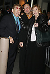 Jerry Stiller and Anne Meara with press agent Chris Boneau<br /> Attending the Opening Night Performance of WELL <br /> at the Longacre Theatre in New York City.<br /> March 30, 2006