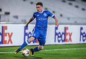28th September 2017, Partizan Stadium, Belgrade, Serbia; UEFA Europa League group stage, Partizan versus Dynamo Kiev; Midfielder Viktor Tsygankov of Dynamo Kiev cuts back with the ball