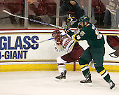 Cam Atkinson (BC - 13), Kevan Miller (Vermont - 15) - The Boston College Eagles defeated the visiting University of Vermont Catamounts 6-0 on Sunday, November 28, 2010, at Conte Forum in Chestnut Hill, Massachusetts.