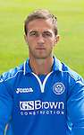 St Johnstone FC 2013-14<br /> Chris Millar<br /> Picture by Graeme Hart.<br /> Copyright Perthshire Picture Agency<br /> Tel: 01738 623350  Mobile: 07990 594431