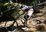 2012 Rockyroads.net UCI World Cup Mountain Biking Downhill, Val Di Sole Italy .Greg MINNAAR on 02/06/2012, Val Di Sole, Italy..© Pierre Teyssot