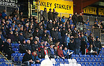 Ross County v St Johnstone...05.12.15  SPFL  Dingwall<br /> Saints fans who travlled to Dingwall<br /> Picture by Graeme Hart.<br /> Copyright Perthshire Picture Agency<br /> Tel: 01738 623350  Mobile: 07990 594431