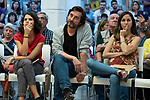 Ione Belarra, deputy spokesperson for United We can; Rafa Mayoral, secretary of Civil Society and Popular Movement of Podemos; ; and Isa Serra, spokesperson for United Podemos in the Madrid Assembly; in a meeting of Podemos with people in Madrid where they exchange points of view, listen to concerns and draw shared horizons.<br /> October 5, 2019. <br /> (ALTERPHOTOS/David Jar)