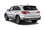 Car pictures of rear three quarter view of a 2019 Acura MDX Standard 5 Door SUV angular rear