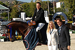 CSIO Barcelona 2018.<br /> Longines-Jumping Nations Cup-Barcelona 2018.<br /> Awards Ceremony.