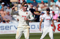 Simon Harmer of Essex with an appeal for a wicket during Essex CCC vs Middlesex CCC, Specsavers County Championship Division 1 Cricket at The Cloudfm County Ground on 26th June 2017