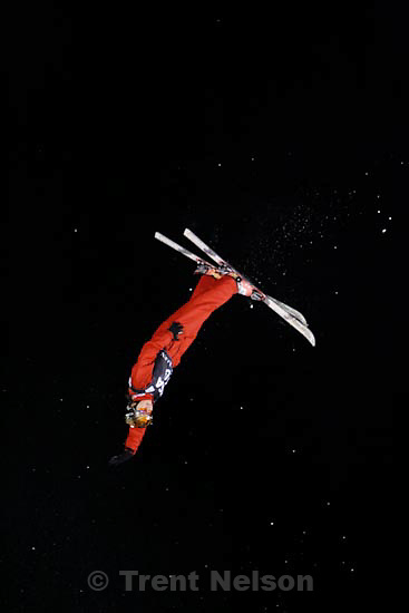 Trent Nelson  |  The Salt Lake Tribune.Shuang Cheng, China, Aerials competition at the FIS Freestyle World Cup at Deer Valley, Friday, January 15, 2010.