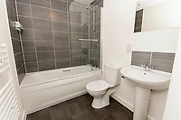 BNPS.co.uk (01202 558833)<br /> Pic: Graham Hunt/BNPS<br />  <br /> Bathroom.<br /> <br /> Are these Britain's most sought-after council flats ...<br /> <br /> A brand new block of council flats have been unveiled that come with stunning sea views homeowners pay a premium for.<br /> <br /> Nile Court is a development of one and two bedroom apartments overlooking Poole Harbour in Dorset, one of the most exclusive locations for property in the country.<br /> <br /> The flats have private balconies from which breathtaking sunset views over water can be enjoyed.<br /> <br /> Thirty out of the 46 flats in the nine storey building are only available to tenants registered for council accommodation, with monthly rents of around £270.