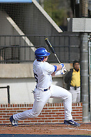 University of Kentucky Wildcats Thomas Bernal #46 at bat during a game against the University of Virginia Cavaliers at Brooks Field on the campus of the University of North Carolina at Wilmington on February 14, 2014 in Wilmington, North Carolina. Kentucky defeated Virginia by the score of 8-3. (Robert Gurganus/Four Seam Images)