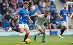 28.04.2019 Rangers v Aberdeen: Ryan Jack and Max Lowe
