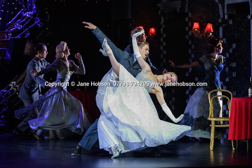 Matthew Bourne's CINDERELLA returns to Sadler's Wells and runs until January 27th 2018. Picture shows: Ashley Shaw (Cinderella), Andrew Monaghan (Harry, the Pilot)