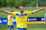 UCD v St Johnstone...10.07.11  Pre-season Friendly.Danijel Subotic celebrates his goal.Picture by Graeme Hart..Copyright Perthshire Picture Agency.Tel: 01738 623350  Mobile: 07990 594431