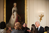 United States Vice President Joe Biden speaks to attendees  at an event for the Council on Women and Girls in the East Room of the White House in Washington, District of Columbia, U.S., on Wednesday, January 22, 2014. Earlier U.S. President Barack Obama signed a Presidential Memorandum at the event establishing a White House Task Force to protect students from sexual assault. <br /> Credit:  Pete Marovich / Pool via CNP