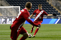 Chester, PA - Friday December 08, 2017: Timmy Mehl The Indiana Hoosiers defeated the North Carolina Tar Heels 1-0 during an NCAA Men's College Cup semifinal soccer match at Talen Energy Stadium.