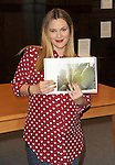 Drew Barrymore Book Signing