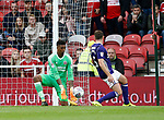 Jamal Blackman of Sheffield Utd makes a save during the Championship match at the Riverside Stadium, Middlesbrough. Picture date: August 12th 2017. Picture credit should read: Simon Bellis/Sportimage