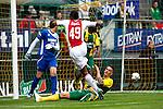 Nederland, Den Haag, 23 september  2012.Seizoen 2012/2013.Eredivisie.Ado Den Haag-Ajax.Ryan Babel van Ajax scoort de 1-1