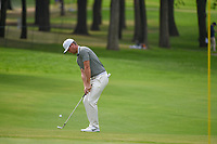 Lucas Bjerregaard (DEN) chips on to 2 during round 3 of the World Golf Championships, Mexico, Club De Golf Chapultepec, Mexico City, Mexico. 2/23/2019.<br /> Picture: Golffile | Ken Murray<br /> <br /> <br /> All photo usage must carry mandatory copyright credit (© Golffile | Ken Murray)