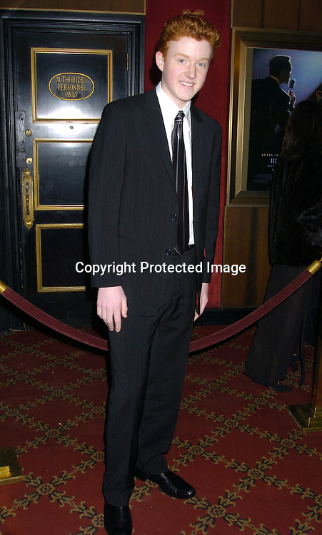 "John Stevens from American Idol ..at The New York Premiere of ""Beyond The Sea"" on ..December 8, 2004 at the Ziegfeld Theatre. ..Photo by Robin Platzer, Twin Images"
