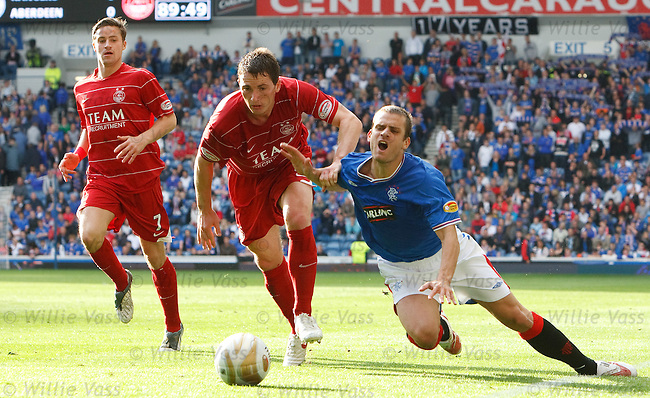 Jerome Rothen pulled down on the wing by Gary McDonald