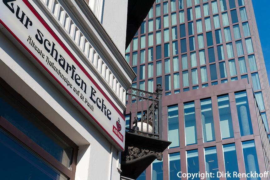 Gentrifizierung in Hamburg St.Pauli, Deutschland