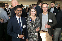 Pictured from left are Vikram Rajendran of Potter Clarkson, Deborah Labbate of Deborah Labbate Business Solutions and Ian Coooper of Brewin Dolphin