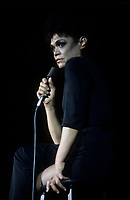 FILE PHOTO :  Eartha Kitt<br /> , circa 1985<br /> <br /> PHOTO : Harold Beaulieu - Agence Quebec Presse
