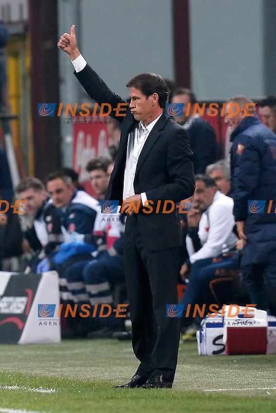 Rudi Garcia Roma,<br /> Milano 05-10-2013<br /> Stadio Giuseppe Meazza <br /> Football Calcio 2013/2014 Serie A <br /> Inter - Roma<br /> Foto Marco Bertorello Insidefoto