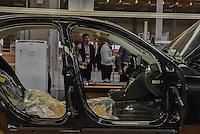 IRACEMÁPOLIS,SP, 23.03.2016 - MERCEDES-BENZ. A montadora Mercedes Benz, inaugura a sua planta em Iracemápolis (SP), no interior de São Paulo, para a construção dos carros Classe C e do utilitário GLA, nesta quarta-feira, 23. (Foto: Mauricio Bento/ Brazil Photo Press)