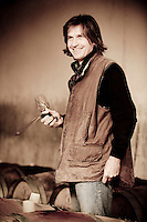 Giovanni Dubini, wine producer at Palazzone vineyards, near Orvieto, Umbria, Italy