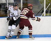 Pierce Norton (Providence 27), Nick Petrecki (BC 26) - The Boston College Eagles and Providence Friars played to a 2-2 tie on Saturday, March 1, 2008 at Schneider Arena in Providence, Rhode Island.