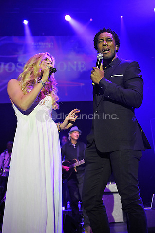 LONDON, ENGLAND - MAY 15: Joss Stone and Lemar(Lemar Obika) performing at Camden Roundhouse on May 15, 2016 in London, England.<br /> CAP/MAR<br /> &copy;MAR/Capital Pictures /MediaPunch ***NORTH AMERICA AND SOUTH AMERICA ONLY***