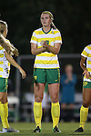 04 September 2015: Oregon's Brooke Strawn. The North Carolina State University Wolfpack hosted the Oregon University Ducks at Dail Soccer Field in Raleigh, NC in a 2015 NCAA Division I Women's Soccer game. NC State won the game 2-0.