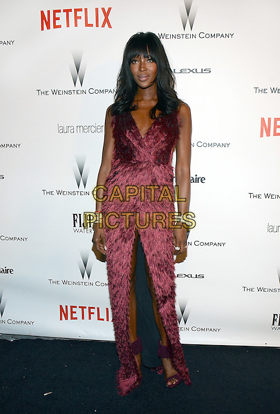 11 January 2015 - Beverly Hills, California - Naomi Campbell. The Weinstein Company and Netflix 2015 Golden Globes After Party celebrating the 72nd Annual Golden Globe Awards held at Robinsons May Lot.  <br /> CAP/ADM/TW<br /> &copy;TW/ADM/Capital Pictures