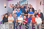 GOLF SOCIETY: Member's of the Greyhound bar Golf Society who competed in the Larry Nunan Memorial Trophy at Kemare Golf Club on Sunday and enjoying the prize giving ceremony at the Greyhound bar, Tralee.