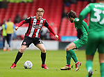 Mark Duffy of Sheffield Utd during the championship match at the Bramall Lane Stadium, Sheffield. Picture date 28th April 2018. Picture credit should read: Simon Bellis/Sportimage