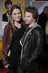 "HOLLYWOOD, CA. - January 27: Seth Green (R) and Clare Grant attend the ""When In Rome"" Los Angeles premiere at the El Capitan Theatre on January 27, 2010 in Hollywood, California."