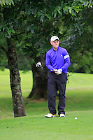 Stephen Barker (Mourne) on the 3rd tee during round 1 of The Mullingar Scratch Cup in Mullingar Golf Club on Sunday 3rd August 2014.<br /> Picture:  Thos Caffrey / www.golffile.ie