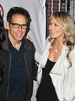 WEST HOLLYWOOD, CA - NOVEMBER 14:  Ben Stiller and Christine Taylor at the opening of Kimberly Snyder's Glow Bio Juice Bar at Glow Bio on November 14, 2012 in West Hollywood, California. Credit: mpi22/MediaPunch Inc. /NortePhoto