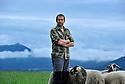 02/07/14 - VERNINES - PUY DE DOME - FRANCE - Portrait de Richard RANDANNE - Photo Jerome CHABANNE