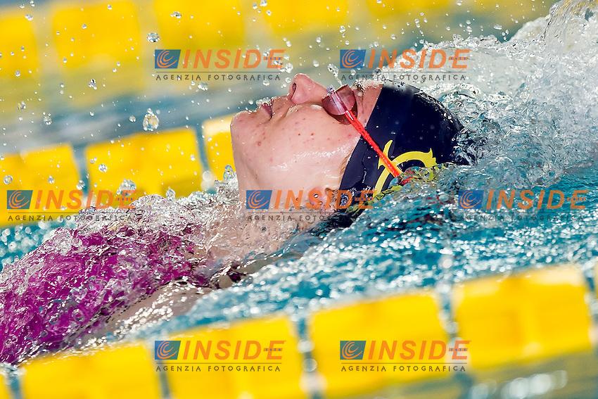 Margherita Panziera C.C. Aniene<br /> 200 Dorso Donne<br /> Batterie Giorno 3<br /> Campionati Italiani Assoluti Nuoto Primaverili Fin UnipolSai<br /> Riccione Italy 14-18/04/2015<br /> Photo Andrea Masini/Deepbluemedia/Insidefoto