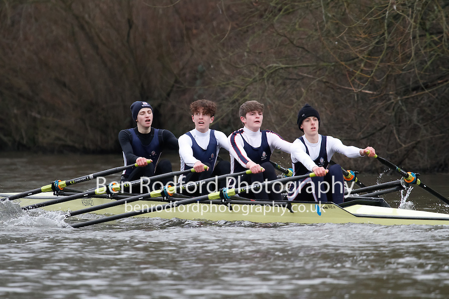 Crew: 6 - Kings Sch Worcs - Junior.4x-<br /> <br /> Head of the Severn (University of Worcester) 2017<br /> <br /> To purchase this photo, or to see pricing information for Prints and Downloads, click the blue 'Add to Cart' button at the top-right of the page.
