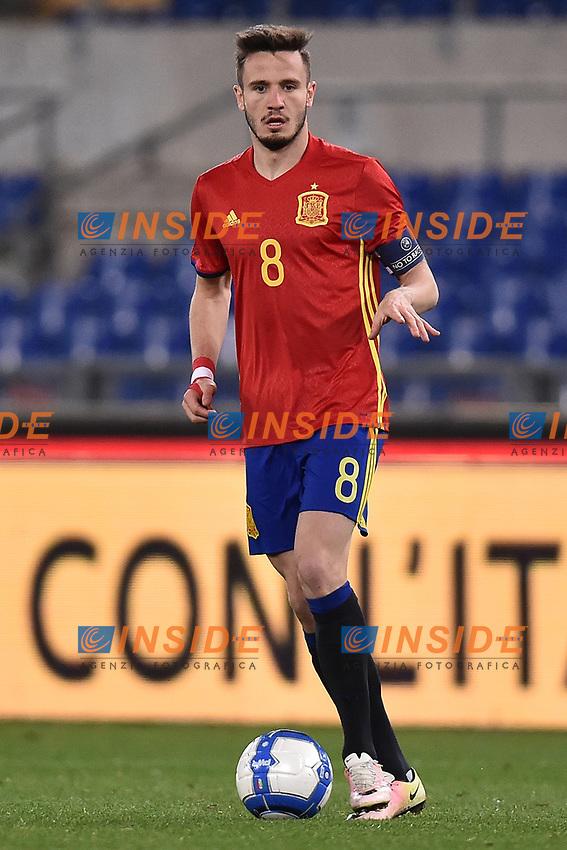 Saul Niguez Spagna <br /> Roma 27-02-2017, Stadio Olimpico<br /> Football Friendly Match  <br /> Italy - Spain Under 21 Foto Andrea Staccioli Insidefoto