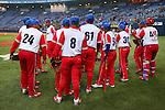 Cuba National Team Group (CUB), .February 27, 2013 - WBC : .2013 World Baseball Classic, Exhibithion Game .match between Cuba 3-2 Hanshin Tigers .at Kyocera Dome, Osaka, Japan..(Photo by AJPS/AFLO SPORT) [1045]