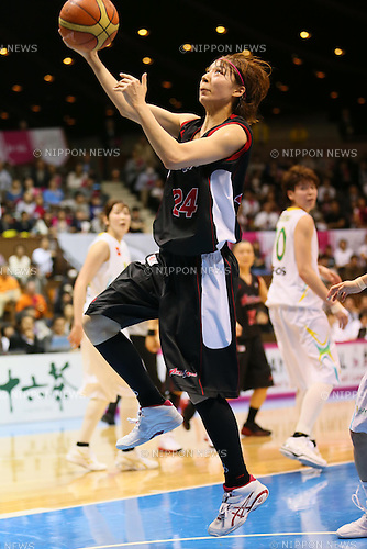 Mika Kurihara (Antelopes), MARCH 19, 2013 - Basketball : The 14th Women's Japan Basketball League Playoffs Final Game #4 between Toyota Antelopes 61-72 JX Sunflowers at 2nd Yoyogi Gymnasium, Tokyo, Japan. (Photo by AFLO SPORT) [1156]