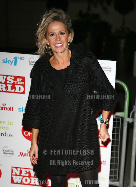 Lucy Benjamin arriving for the Children's Champion Awards 2010, at Grosvenor House Hotel, London. 03/03/2010  Picture by: Alexandra Glen / Featureflash