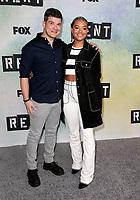 "08 January 2019 - Los Angeles, California - Stephen Oremus and Kiersey Clemons. FOX Hosts ""RENT"" Press Junket held at the FOX Lot. Photo Credit: Faye Sadou/AdMedia"