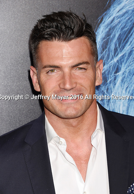 HOLLYWOOD, CA - OCTOBER 17: Actor Aidan Turner attends the premiere of Lionsgate's 'Boo! A Madea Halloween' at the ArcLight Cinerama Dome on October 17, 2016 in Hollywood, California.